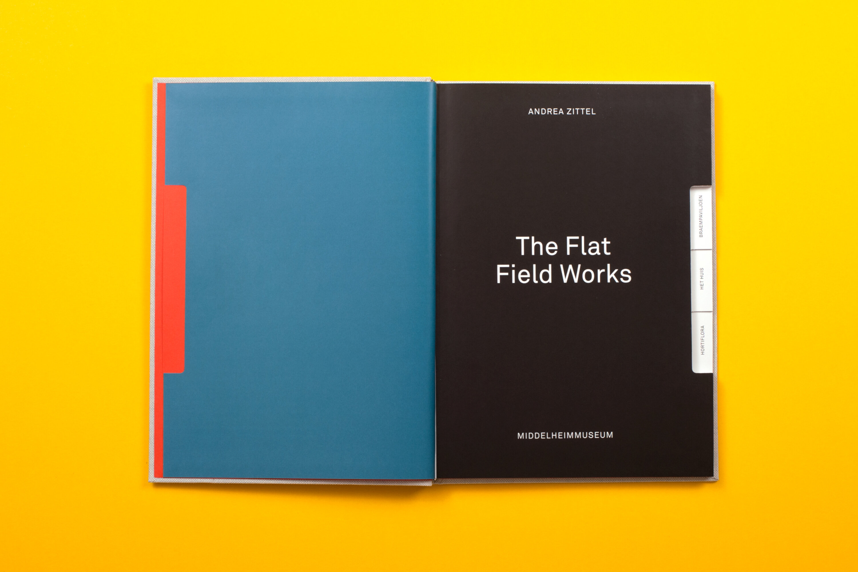 Catapult middelheim museum andrea zittel the flat field works catalogue design for the exhibition the flat field works with work of american artist andrea zittel at the middelheim museum publicscrutiny Gallery